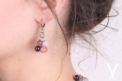 Boucles-rose-grappe